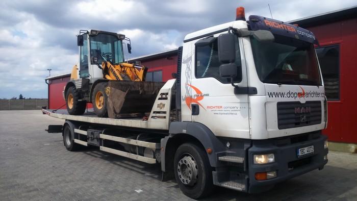 Přeprava zemědělských strojů Brno