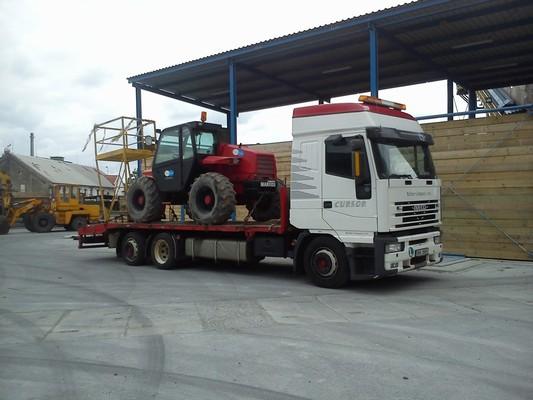 Přeprava zemědělských strojů