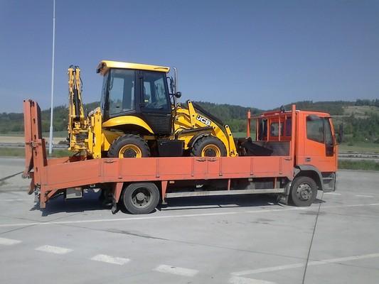 Doprava stavební techniky Brno