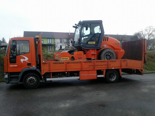 Doprava stavebních strojů Brno