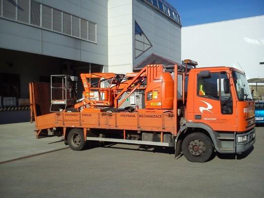 Přeprava stavební mechanizace Brno