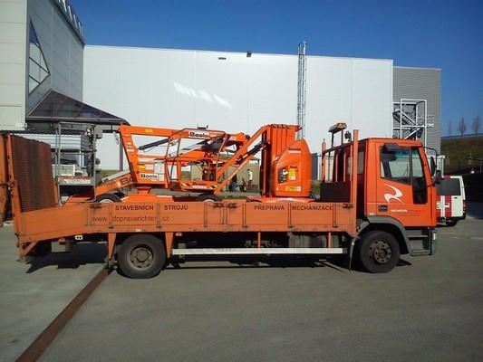 Přeprava stavebních strojů Brno
