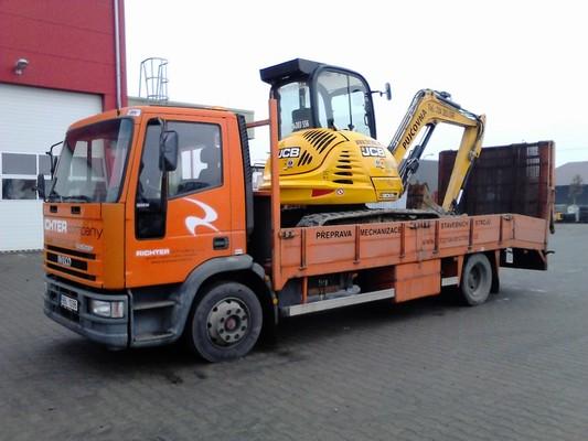 Doprava stavebních strojů